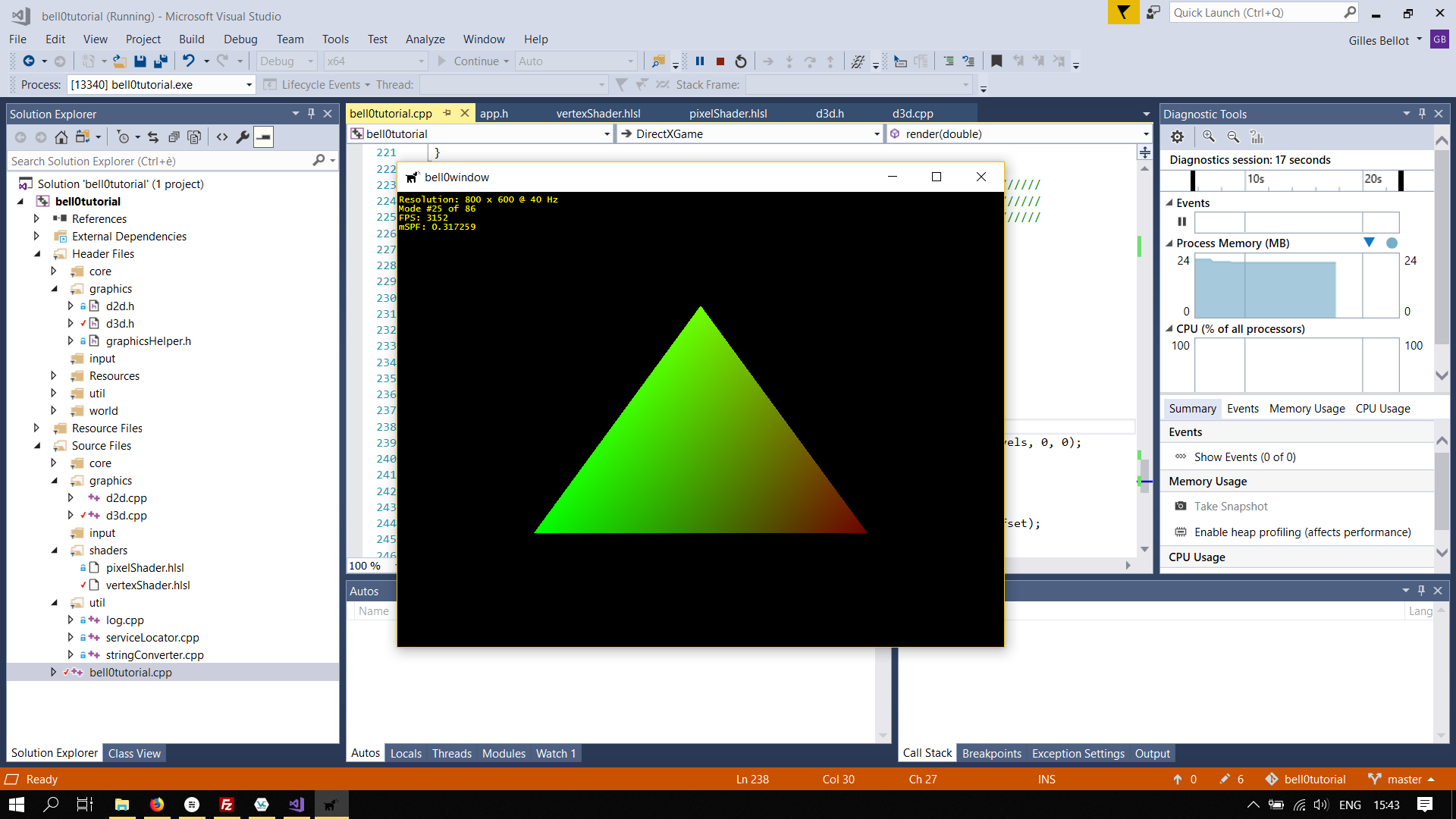 DirectX Tutorial: Constant Buffers (HLSL)
