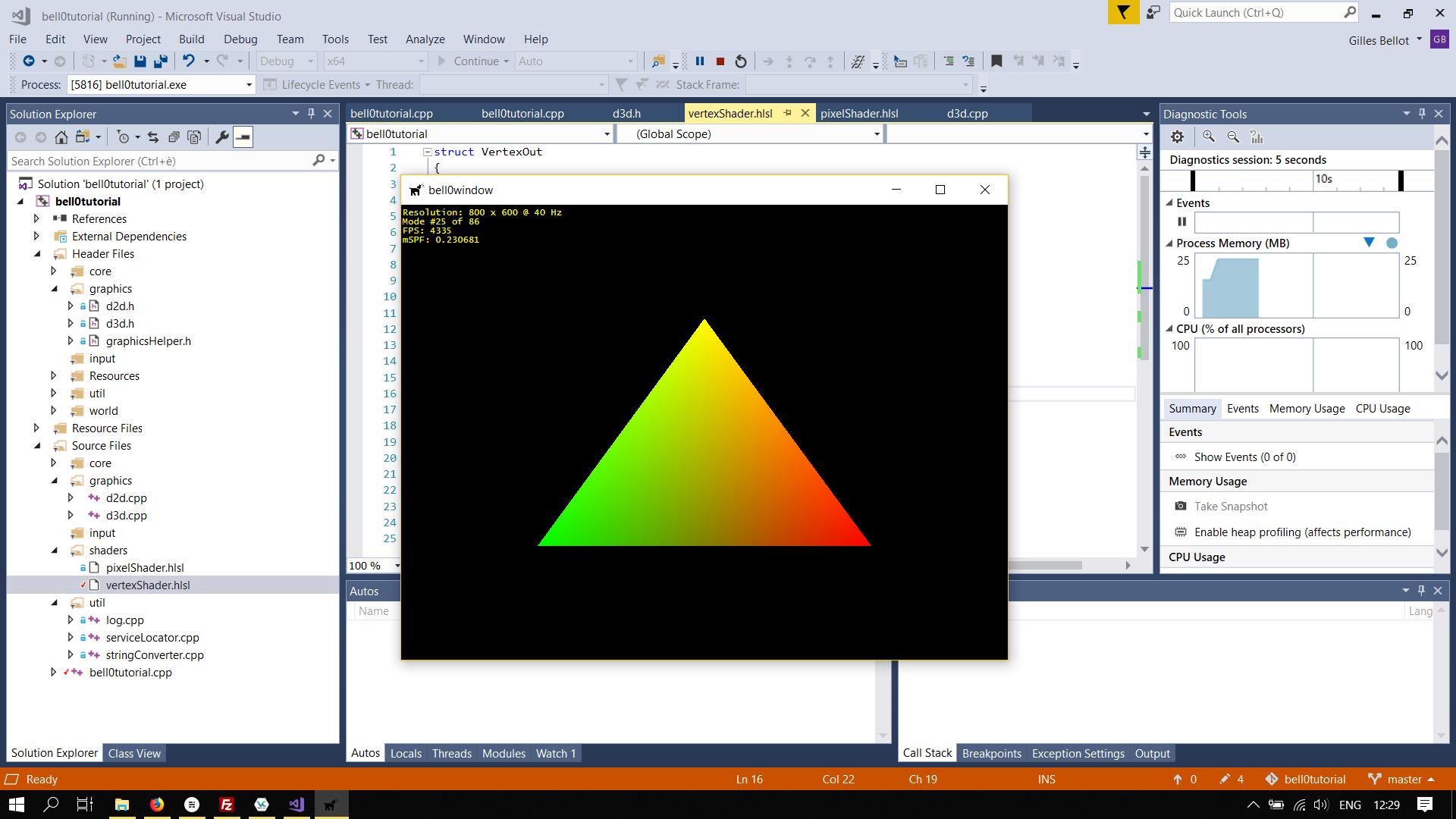 Scaled Triangle