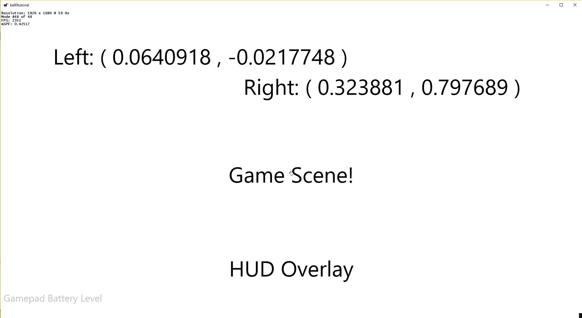 DirectX Tutorial: XInput and Gamepads